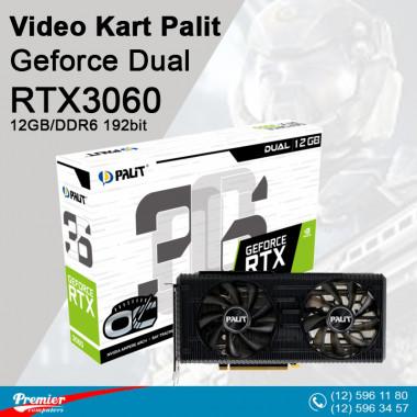 VGA Palit RTX3060 Geforce Dual 12GB/DDR6 192bit / 3-Dp Hdmi