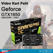 VGA Palit GTX1650 Geforce 4GB/DDR6 / 128bit 2Dp Hdmi