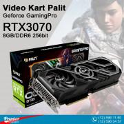 VGA Palit RTX3070 Geforce GamingPro 8GB/DDR6 256bit / 3-Dp Hdmi