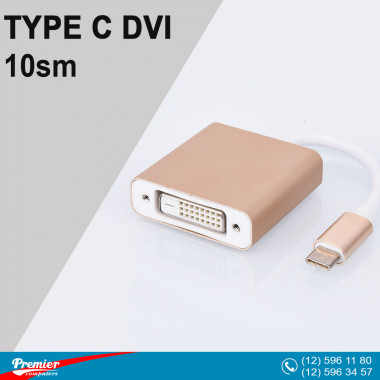 Converter TYPE-C  to DVI 10sm