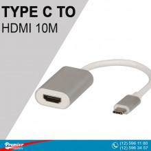 Converter TYPE-C to HDMI 10m