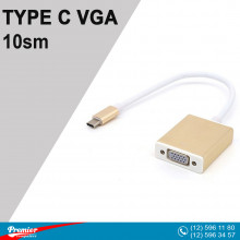 Converter TYPE-C  to VGA 10sm