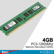 Memory DDR3 4GB Microtech PC3-12800 Mhz