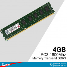 Memory DDR3 4GB Transend PC3-1600 Mhz