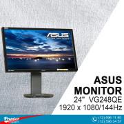 Monitor 24'' Asus VG248QE  1920 x 1080/144Hz/80000000:1/1Ms/Speaker/DP/DVI-D/HDMI P/N 90LMGG301Q022E1C