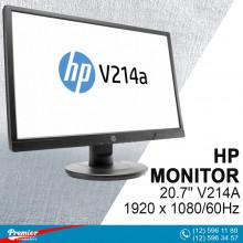 Monitor 20.7'' HP V214A  1920 x 1080/60Hz/600:1/5Ms/Speakers/VGA/HDMI P/N 1FR84AA