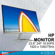Monitor 23.8'' HP 24F 16:9/IPS1920 x 1080/75Hz/1000:1/5Ms/VGA/HDMI P/N L09845-004