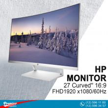 Monitor 27'' HP 27 Curved'' 16:9/FHD1920 x1080/60Hz/1000:1/5Ms/VGA/2-HDMI P/N Z4N74AA