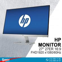 Monitor 27'' HP 27ER 16:9/FHD1920 x1080/60Hz/1000:1/5Ms/VGA/2-HDMI P/N T3M88AA