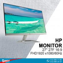 Monitor 27'' HP 27F 16:9/FHD1920 x1080/60Hz/1000:1/5Ms/VGA/2-HDMI P/N L09847-004