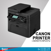 Printer LaserJet Canon i-SENSYS MF237w  Wi-Fi/Network  Print/Copy/Scan/ADF Cartridge 737