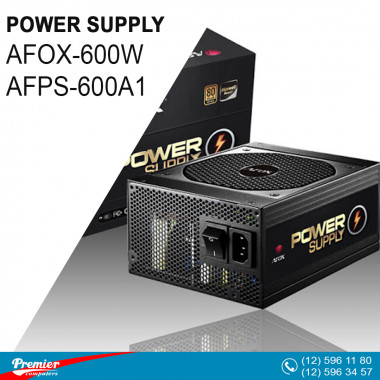 Power Supply AFOX-600W  AFPS-600A1