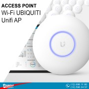 Access Point Wi-Fi UBIQUITI Unifi AP AC LITE 802.11ac Dual-Radio 10/100/1000 LAN 200 Users