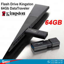 Flash Drive Kingston 64 gb DataTraveler 100 USB 3.1