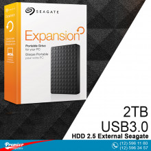 HDD 2.5 External Seagate Expansion 2TB USB3.0  P/N 1TEAP3-570