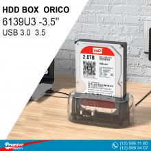 HDD BOX ORICO 6139U3 USB 3.0  3.5'' HDD Docking Station