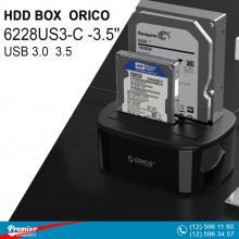 HDD BOX ORICO 6228US3-C 2.5/3.5''  HDD Docking Station