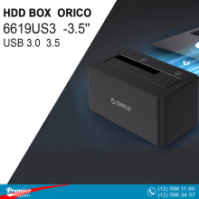 HDD BOX ORICO 6619US3 USB 3.0 2.5/3.5'' HDD Docking Station