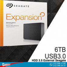 HDD 3.5 External Seagate Expansion 6TB USB3.0  P/N 1TFAPR-570