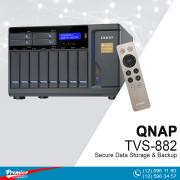 RAID QNAP Secure Data Storage & Backup TVS-882 -RP 8-Bay Turbo vNAS