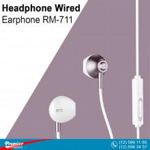 Headphone Wired Earphone RM-711