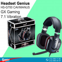 Headset Genius HS-G700 CAVIMANUS GX Gaming 7.1 Vibration