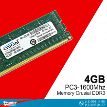 Memory DDR3 4GB Crusial PC3-1600Mhz