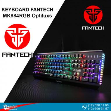 Keyboard Fantech MK884 - Optiluxs RGB Wired