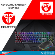 Keyboard/Mouse Fantech MVP862 - Commander RGB Wired