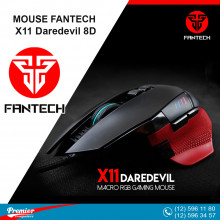Mouse Fantech X11 Daredevil Wired