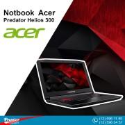 """Acer Predator Helios 300 2.2 GHz Intel Core i7-8750H Six-Core 16GB DDR4 / 1TB HDD 128GB SSD 15.6"""" / NVIDIA GeForce GTX 1060 GPU 6GB GDDR5"""