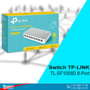 Switch TP-LINK TL-SF1008D Desktop 8-Port 10/100Mbps P/N 1730502143