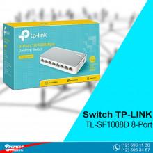 Switch TP-LINK TL-SF1008D Desktop 8-Port 10/100Mbps P/N 1730502143