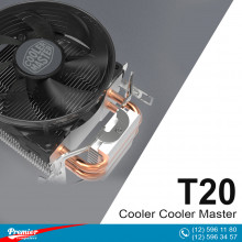 Coller For CPU Coller Master T20 LGA 1151/1150/AMD P/N RR-T2V1-20FR