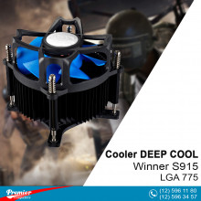 Coller For CPU DEEP COOL Winner S915 LGA 775