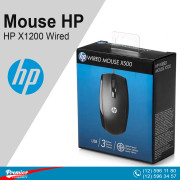 Mouse HP X500 Wired P/N E5C12AA