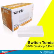 Switch Tenda S108 Desktop 8 Port 10/100Mbps