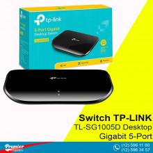 Switch TP-LINK TL-SG1005D Desktop Gigabit 5-Port 10/100/1000Mbps P/N 1730502114