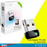 Wi-Fi USB Adapter TP-LINK TL-WN725N 150Mbps  P/N 0152502243