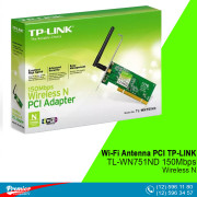 Wi-Fi Antenna PCI TP-LINK TL-WN751ND 150Mbps Wireless N P/N 0152502093