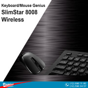 Keyboard/Mouse Genius SlimStar 8008 Wireless