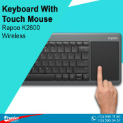 Keyboard With Touch Mouse Rapoo K2600 Wireless