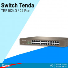 Switch Tenda TEF1024D Desktop 24 Port 10/100Mbps