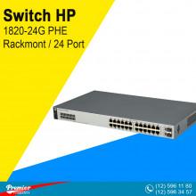 Switch HP 1820-24G PHE Rackmont  24 x Gigabit  2 x Gigabit SFP P/N J9980A