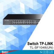 Switch TP-LINK TL-SF1048(UN) Rackmont 48-Port 10/100Mbps  P/N 1730502102