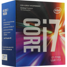 Processor Intel Core i7-7700 Kaby Lake Quad-Core 3.6 GHz LGA 1151