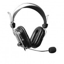 A4TECH HS-50 - Stereo Headset with MIC - Black