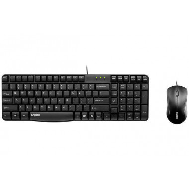 Rapoo N1850 Black USB Keyboard