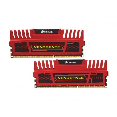 CORSAIR Vengeance 16GB (2 x 8GB) 240-Pin DDR3 SDRAM DDR3 1600 (PC3 12800) Desktop Memory Model CMZ16GX3M2A1600C10R  CMZ16GX3M2A1600C10R