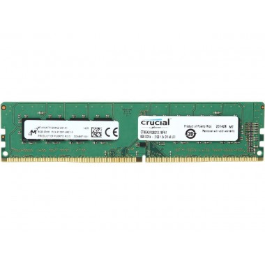 Crucial 8GB 288-Pin DDR4 SDRAM DDR4 2133 (PC4 17000) Desktop Memory Model CT8G4DFD8213  CT8G4DFD8213
